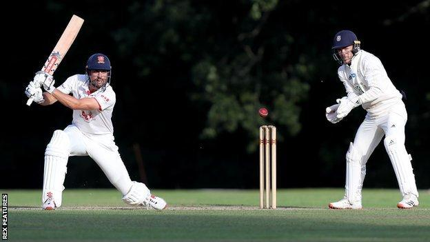 sports Sir Alastair Cook, the former England skipper, finished the day 75 not out at Arundel for Essex against Hampshire