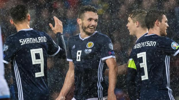 Scotland 6-0 San Marino: John McGinn will 'treasure' hat trick thumbnail