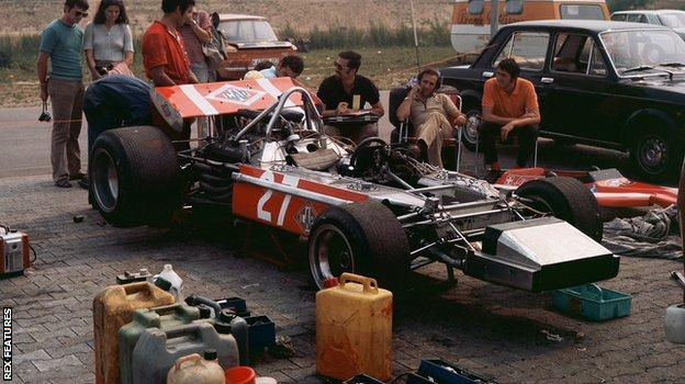 Silvio Moser's Bellasi at the 1970 German GP