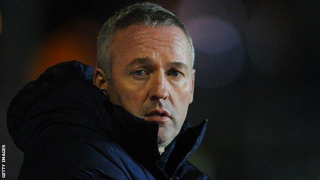 Blackburn Rovers manager Paul Lambert
