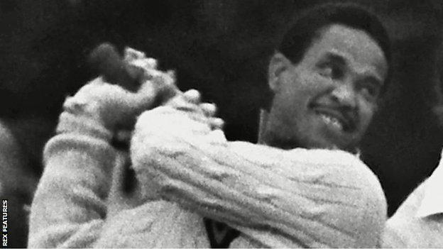 Sir Garfield Sobers scored 8,032 runs and took 235 wickets in 93 Tests between 1954 and 1974