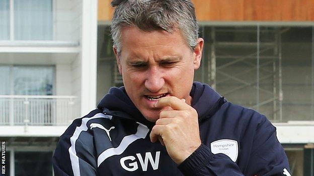 Hampshire director of cricket Giles White