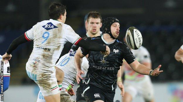 Ospreys are third and sixth respectively in Conference A in the Pro14