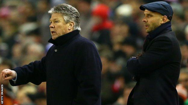 Steve Perryman (left) and Paul Tisdale