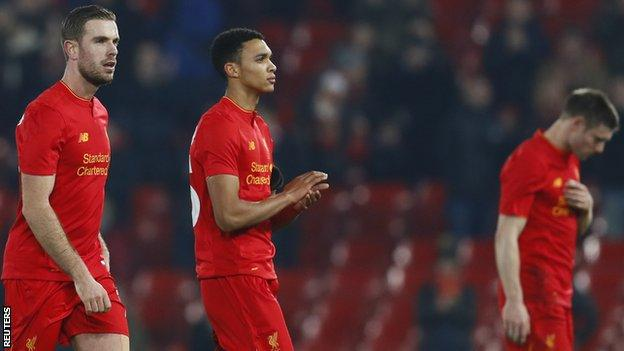 Liverpool failed to make 73% of possession tell at Anfield and now have just one win in seven matches