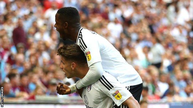 Ryan Sessegnon and Tom Cairney.