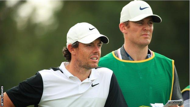 Rory McIlroy and Niall O'Connor