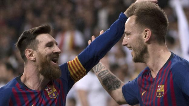 Real Madrid 0-1 Barcelona: Rakitic sends Barca 10 points clear in La Liga thumbnail
