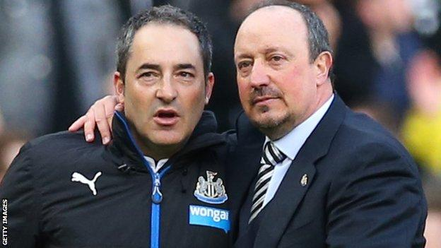 Benitez is understood to have a break clause in his contract