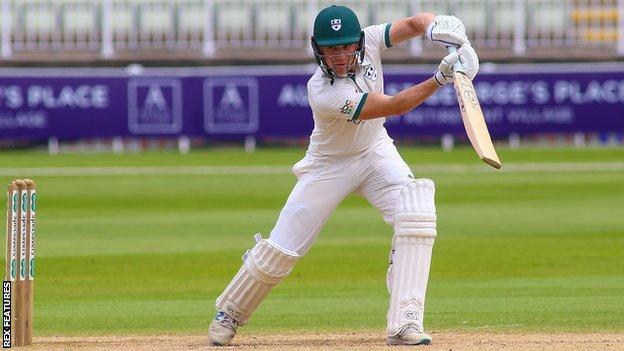 Worcestershire batsman Jack Haynes