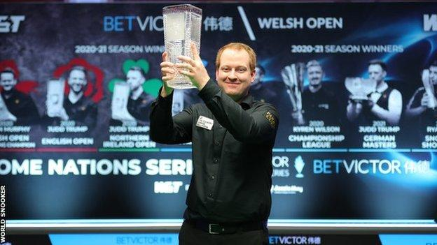 Jordan Brown is the lowest-ranked player to have reached the Welsh Open final since Andrew Higginson in 2007