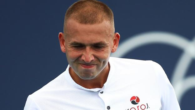 Miami Open: Britain's Dan Evans loses in second round to Denis Shapovalov thumbnail