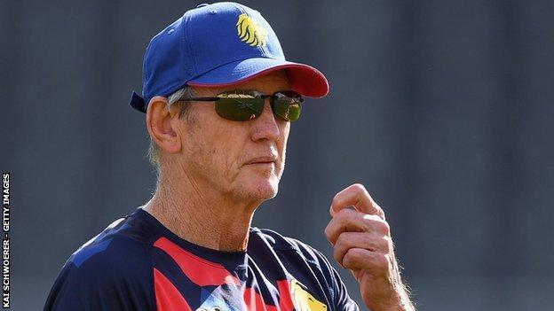 Great Britain Rugby League Lions head coach Wayne Bennett