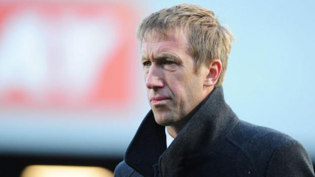 Graham Potter: Swansea boss Brighton's target to replace Chris Hughton thumbnail