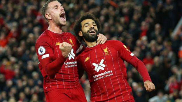 Liverpool 2-1 Tottenham: Mohamed Salah's penalty seals win for Reds thumbnail