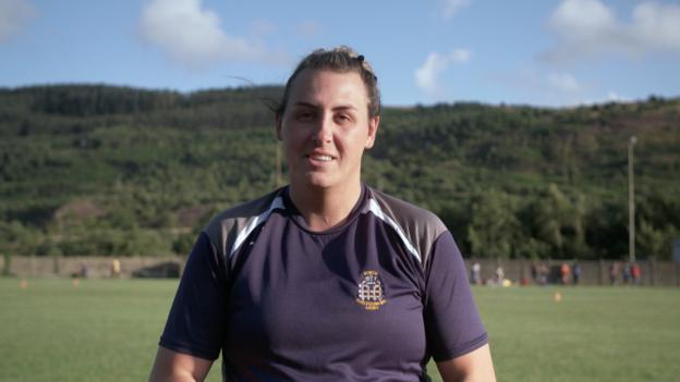 Transgender rugby player playing with 'a smile on my face'