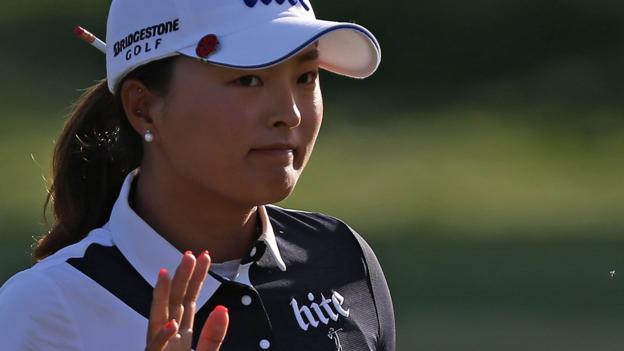 ANA Inspiration: Ko Jin-young leads as South Koreans take control thumbnail