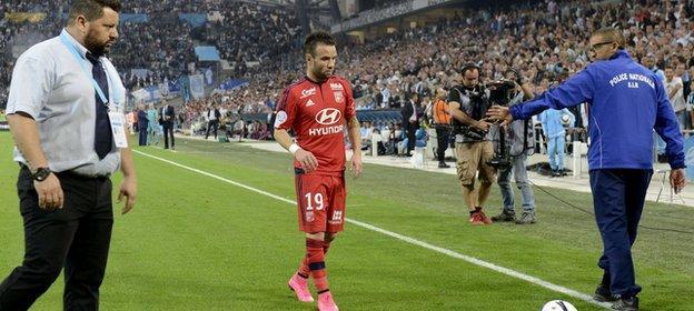 Mathieu Valbuena - Marseille v Lyon