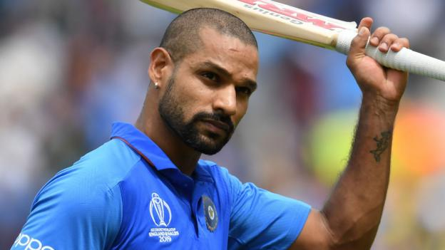 Shikhar Dhawan: India opener ruled out of World Cup with fractured thumb thumbnail