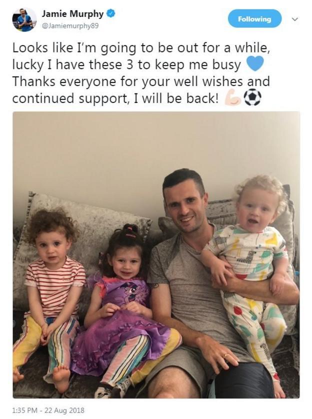 Jamie Murphy tweet