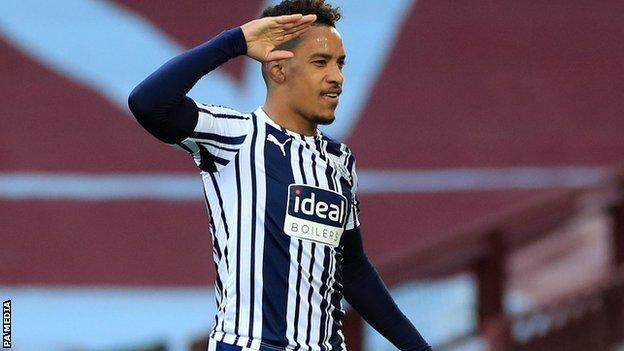 Matheus Pereira appears to have made the last of his 79 appearances for West Bromwich Albion