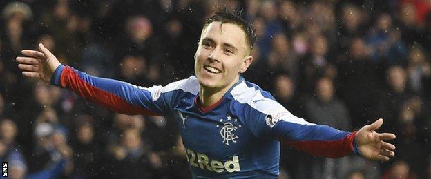 Rangers winger Barrie McKay