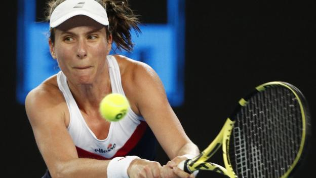 Australian Open 2019: Johanna Konta knocked out by Garbine Muguruza thumbnail