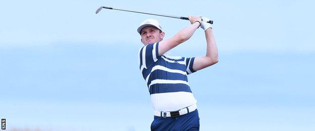 Connor Syme shot 62 at Gullane on Friday