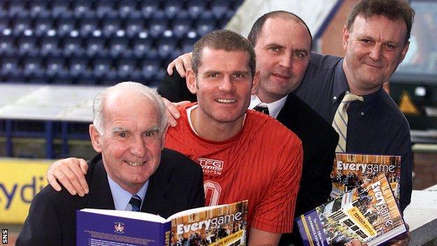 David Sneddon, Ian Durrant and Bobby Williamson