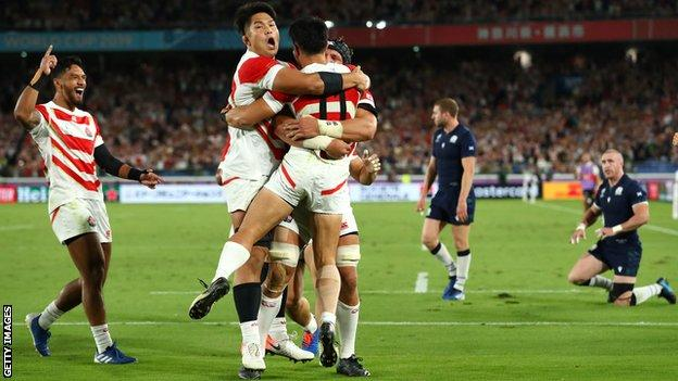 Georgia Lined Up To Replace Japan In Eight Team Autumn Tournament Bbc Sport