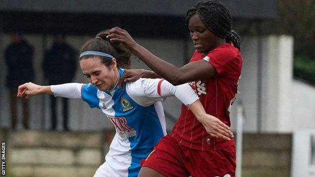 Natasha Fenton and Liverpool's Rinsola Babajide