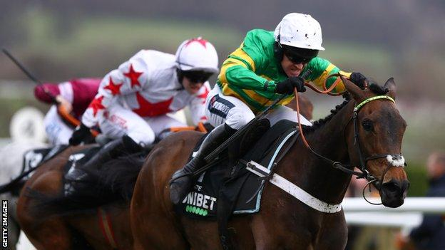 Barry Geraghty on Epatante