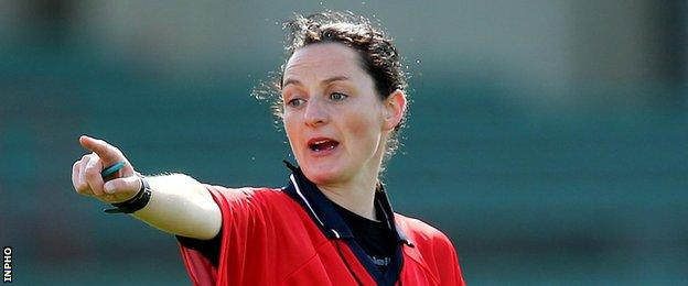 Cavan referee Maggie Farrelly