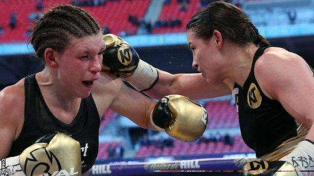 Katie Taylor has won all five of her professional contests