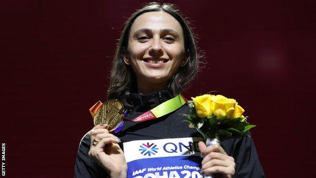 Russian Mariya Lasitskene
