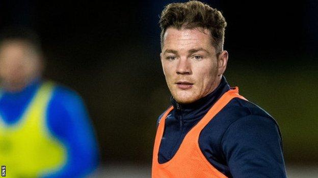 David Cox: Albion Rovers striker quits football over 'abuse' claim during Stenhousemuir game thumbnail