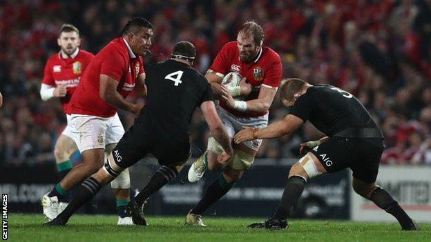 Gregor Townsend turned down the chance to be part of the Lions set-up in 2017