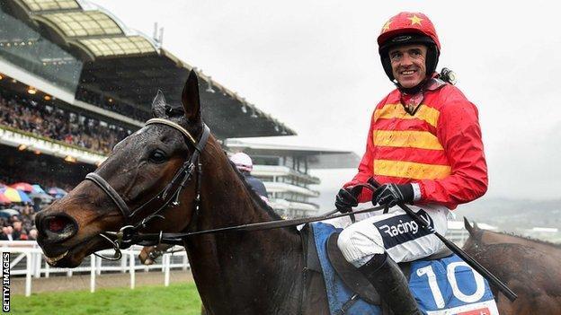 Jockey Ruby Walsh