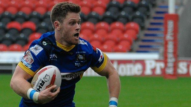 Dave Scott in action for Doncaster