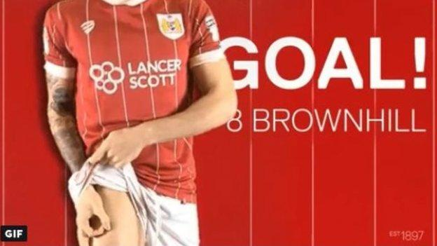 Bristol City set the standard with their goal gifs