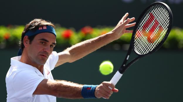 Federer Hurkacz Pinterest: Indian Wells: Roger Federer Beats Hubert Hurkacz To Set Up