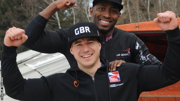 Bruce Tasker and Joel Fearon finish fourth at the World Championships