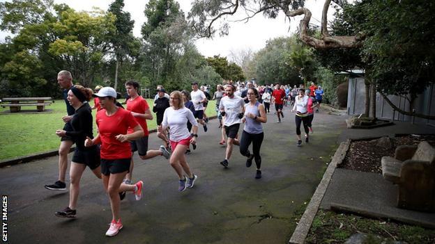 Parkrun participants