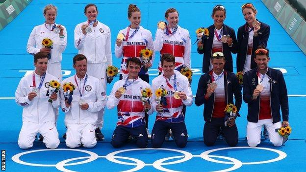 Great Britain finished 14 seconds ahead of the United States, while France secured bronze