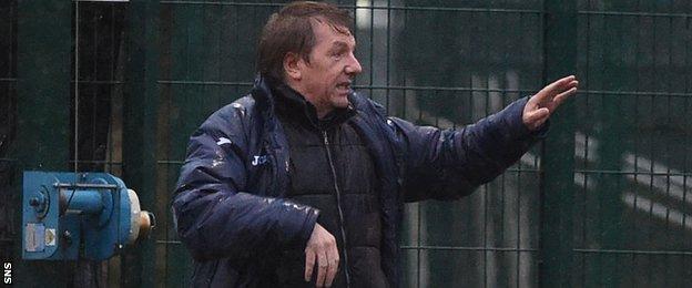 East Kilbride manager Billy Ogilvie