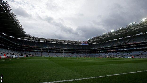 Croke Park is the main GAA stadium in Ireland