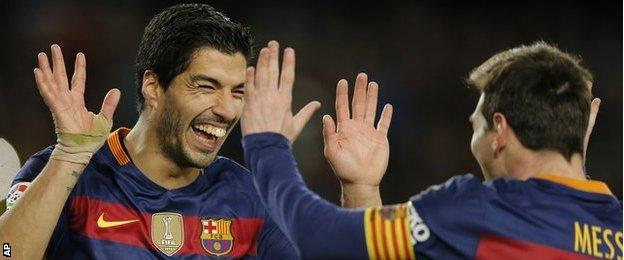 Lionel Messi and Luis Suarez's penalty helped Barcelona beat Celta Vigo