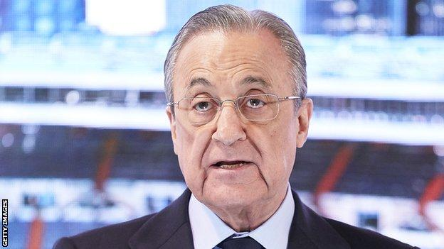 European Super League: Clubs 'cannot leave', says Real Madrid president Florentino Perez thumbnail