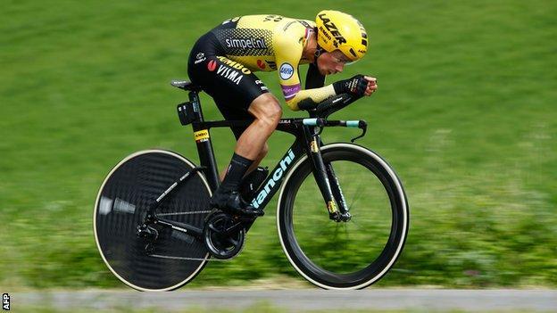 Primoz Roglic on stage nine win at the Giro d'Italia