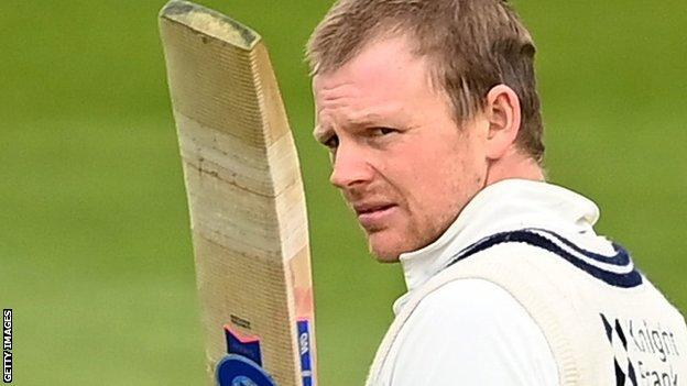 Former England opener Sam Robson made the first century of the 2021 county season - the 24th of his career